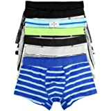 YiRing Boys Underwear Boxer Shorts Variety of Boxers Underpant for Boys 5 Pack