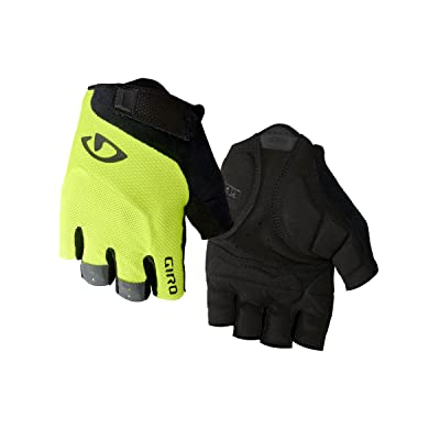Giro Bravo Gel - Gants - jaune/noir Taille de gant XL | 10,0 2018 gants velo hiver