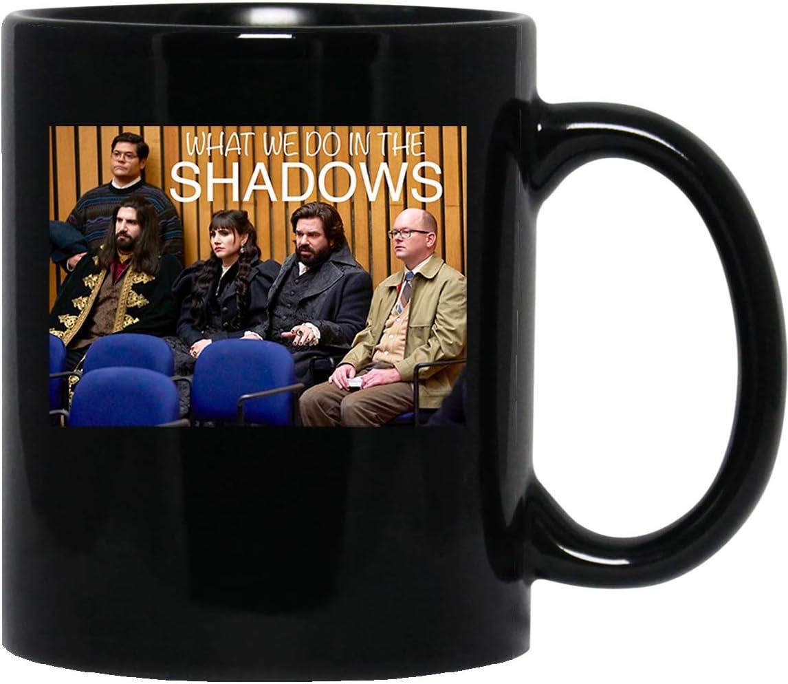 What We Do in The Shadows Tv Show Vampires Comedy Nadja Laszlo Colin Robinson Unisex T Mug Cup Coffee Mugs Cups Tea ()
