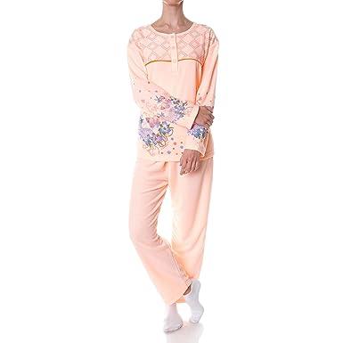huge selection of 64e2c a5d2c Damen Pyjama Nachthemd Schlafanzug Set 21695