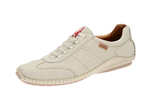 Pikolinos 08j-6582 Espuma Weiß - Mocasines de Piel para hombre, color Blanco, talla 39 EU: Amazon.es: Zapatos y complementos