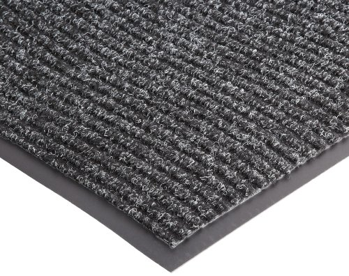 NoTrax 109 Brush Step Entrance Mat, for Lobbies and Indoor Entranceways, 3' Width x 10' Length x 3/8