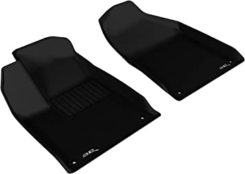 Tan Kagu Rubber 3D MAXpider Second Row Custom Fit All-Weather Floor Mat for Select Chrysler 200 Models