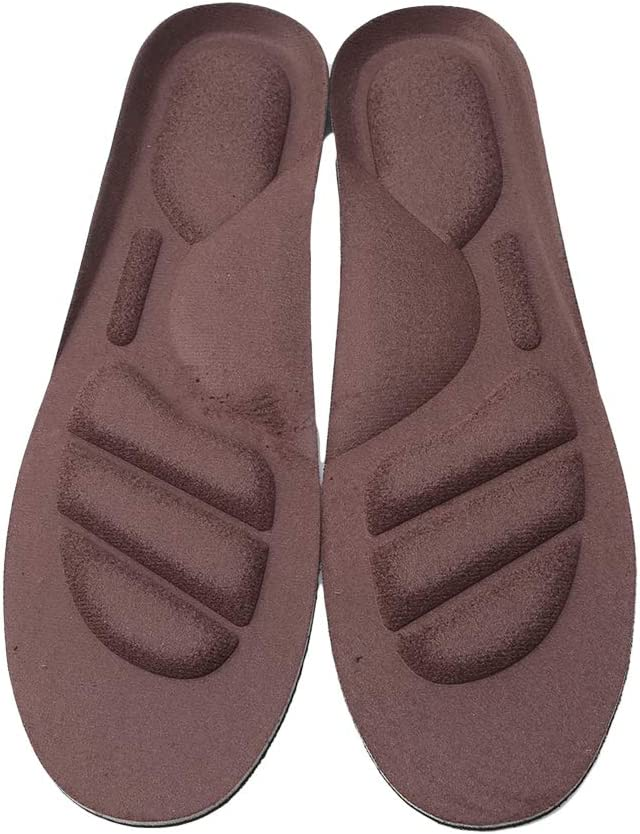 MOONQING Faux Leather Insoles