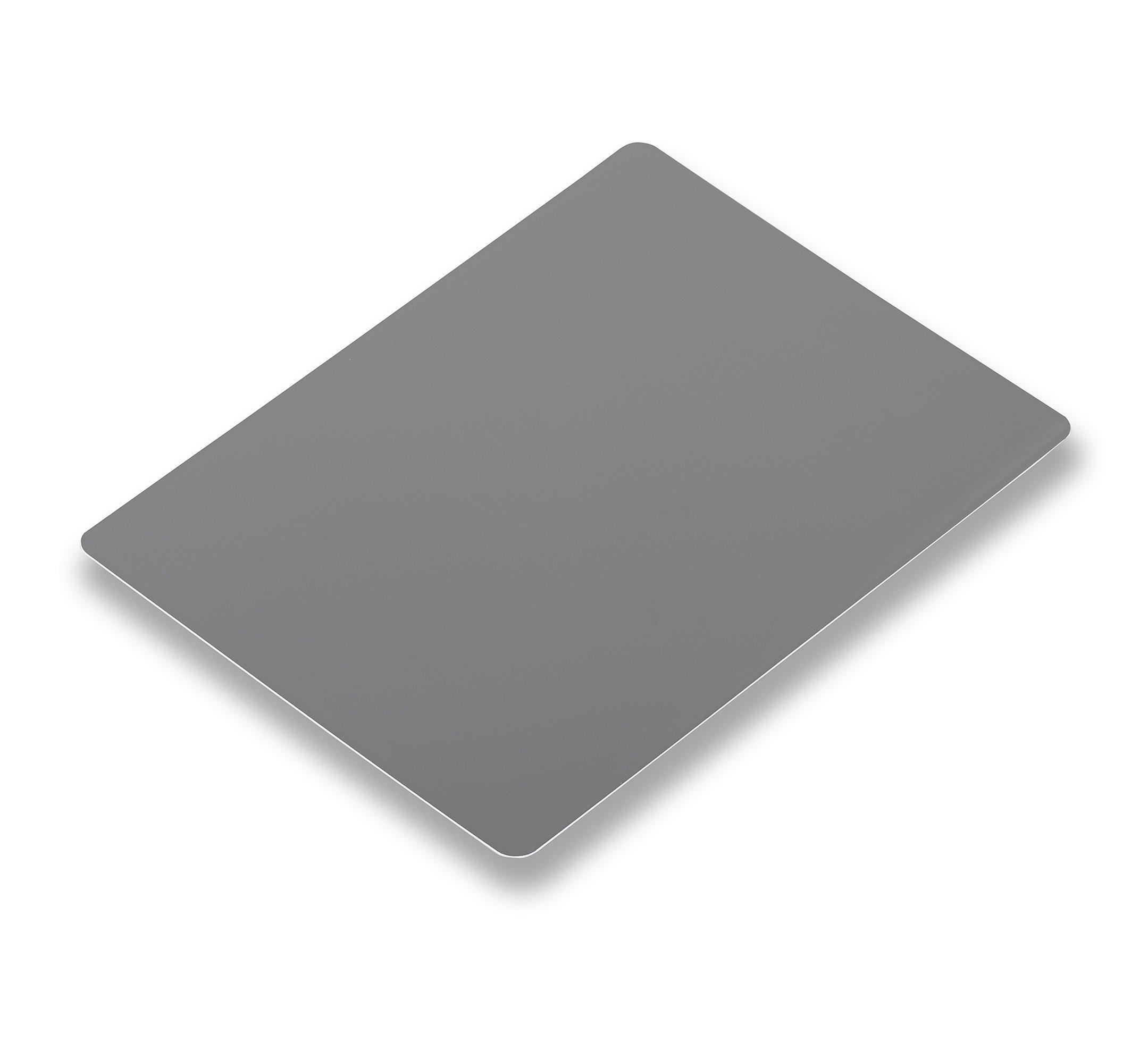 Novoflex 9x8'' Grey/White Card for Manual White Balance/Exposure (ZEBRA)