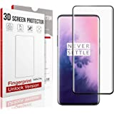 QITAYO Screen Protector for oneplus 7 pro, [HD Clear] [Bubble-Free][Case Friendly] Tempered Glass Screen Protector Compatible with oneplus 7 pro