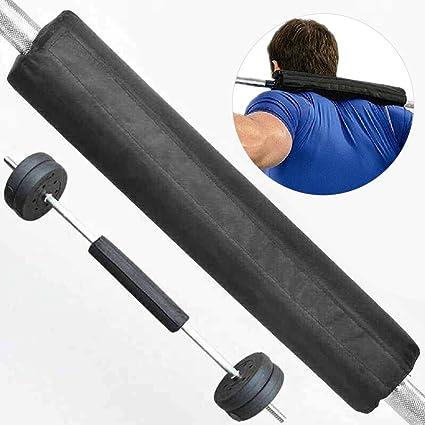 UxradG Barbell Pad Gel Soporta Squat Bar Peso Levantamiento Pull Up Gripper Cuello Hombro Barbell Protector