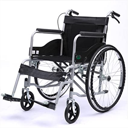 Silla de ruedas Plegable, Carretilla Mayor, discapacitados, Ancianos, Vespa asentada Multiusos
