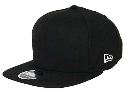 2f238088fbcc89 New Era 9fifty Snapback Blank Original Fit Black - One-Size at ...
