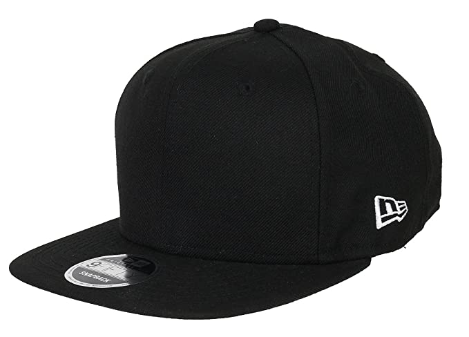 f3d9ad1c8f5 New Era 9fifty Snapback Blank Original Fit Black - One-Size at Amazon Men s  Clothing store