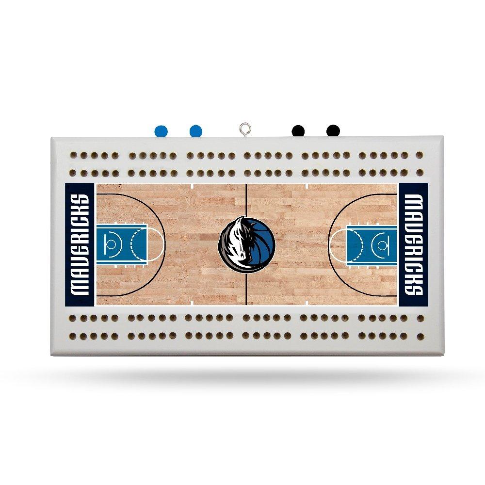 Rico Dallas Mavericks NBA Licensed 2 Track Cribbage Board