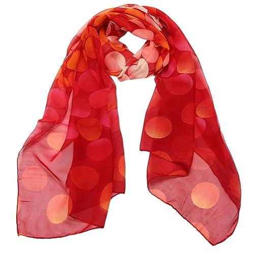 Webla - Fular - para mujer multicolor Rojo De La Sandía