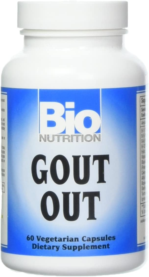 Bio Nutrition Gout Out Vegi-Caps (1-Pack of 60)