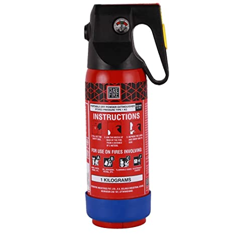 3e9c825b0417 Ceasefire Powder Based Car   Home Fire Extinguisher (Red) - 1 kg   Amazon.in  Home Improvement