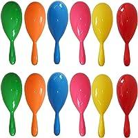 30 Pieces Maracas Colorful Maracas Fie Maracas Plastic Maracas Pool Toys Noise-Making Toys for Party Favors or Musical…