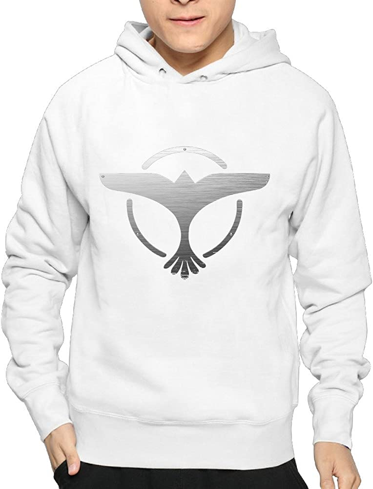 Boy Popular DJ Tiesto Logo Design Pullover Hooded Sweatshirt