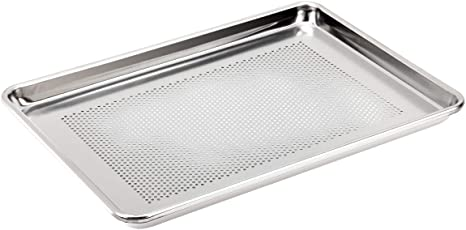 Amazon Com Kitchen Vendor Perforated Half Size Aluminum Baker Cookie Sheet Pan Nsf Certified 13 X 18 Inch Kitchen Dining