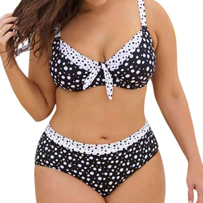 VECDY Bikinis Mujer 2019 Push Up Braga Alta, Bañadores Natacion Tallas Grandes Traje De Baño Dividido Monokini Mujer Sexy A Rayas De Rayas Ropa De ...