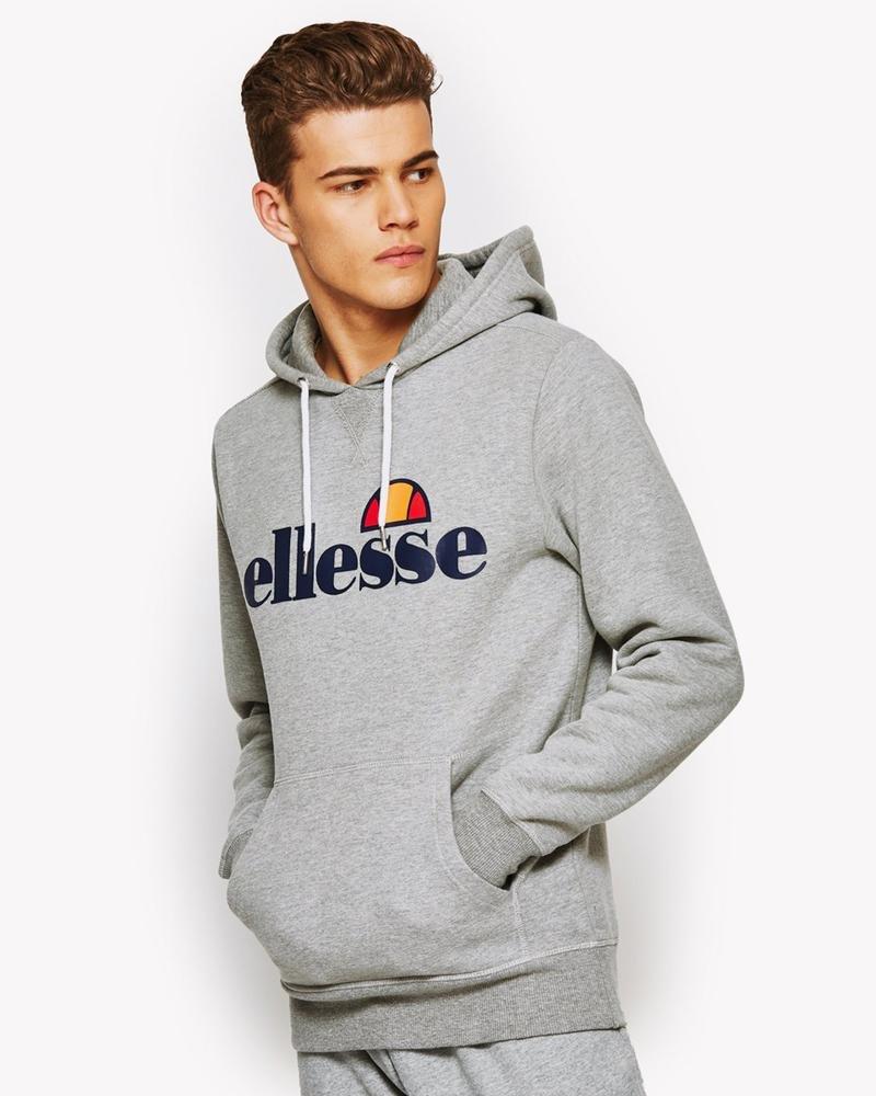 ellesse sweater grey high 2018