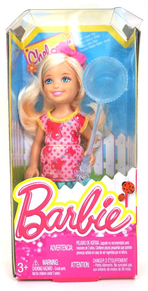 Barbie Chelsea Friends Outdoor Fun  Chelsea with Butterfly Net