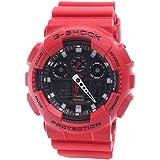 GSHOCK Men's Automatic Wrist Watch analog-digital Display and Resin Strap, GA100B-4A