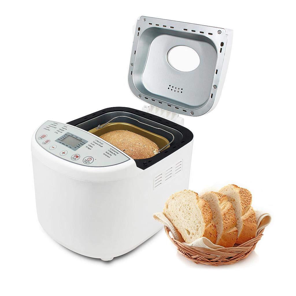 Leogreen - Máquina de pan automática con 19 programas, para pan ...