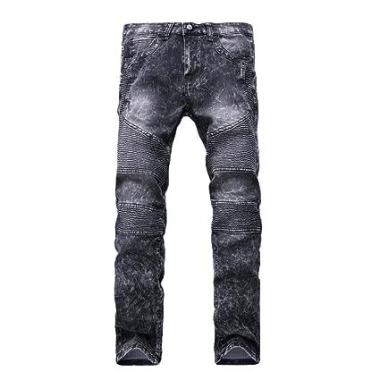 STRIR-Ropa Pantalones Rotos Largos Vaqueros Hombres Vaqueros ...