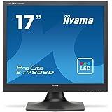 iiyama ディスプレイ モニター E1780SD-B1 17インチ/SXGA/LED/スクエア型