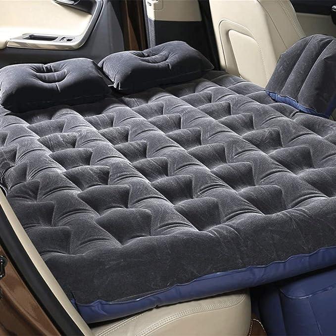 Colchones De Aire Camping Car Mobile Cushion Air Bed Colchón Inflable De Viaje Asiento Trasero Sofá Extendido Para SUV Y Sedanes Y Camiones Siesta Cojín A ...