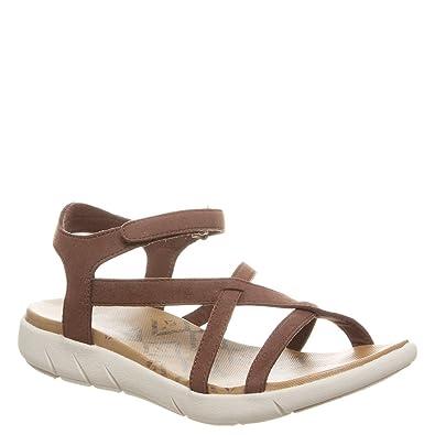 c56c5d9426 Amazon.com | Bearpaw Women's Lydia Ankle Strap Sandals | Flats