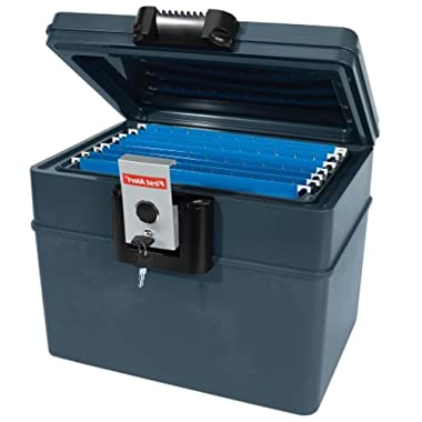 Filing Cabinet Fireproof Waterproof Portable Organizer Hardware Locking File Locked Heavy Duty Travel & E book By Easy2Find