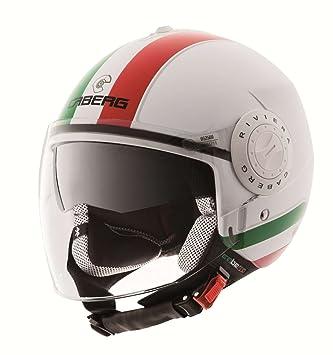 Caberg Helm Viviera V2+ Jethelm Italia, 30520060, Größe S (55/56 cm