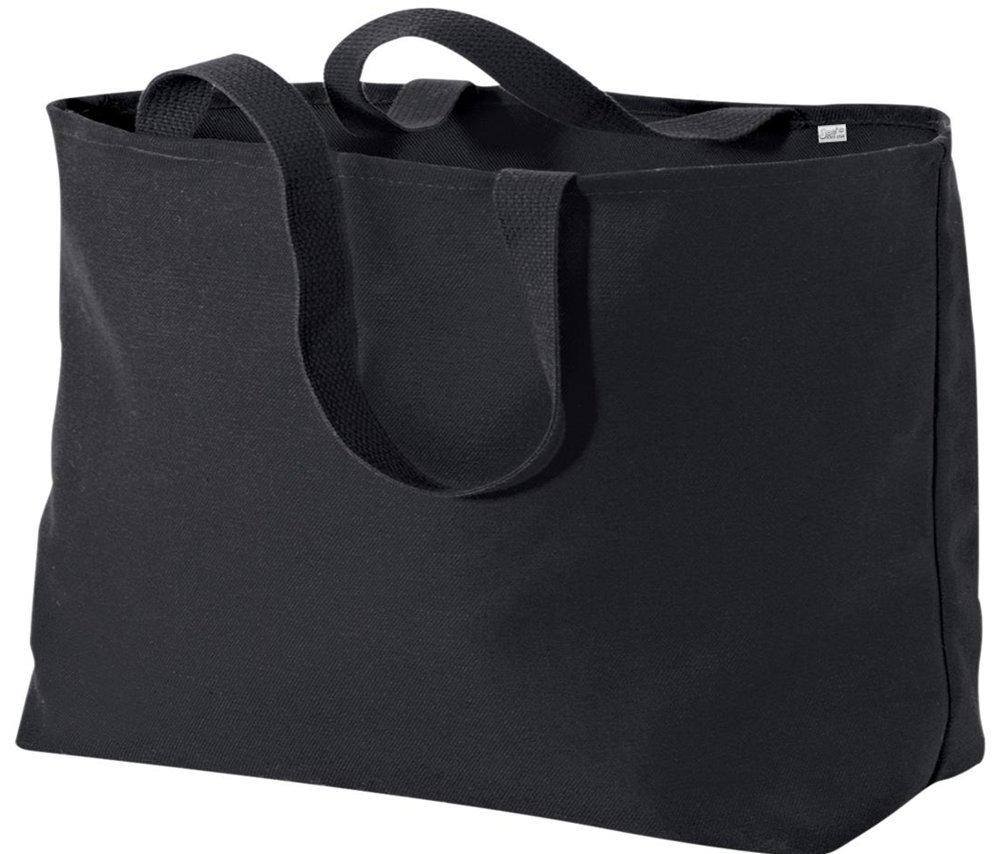 Joe's USA Jumbo Tote Bag a Sturdy 10-ounce Cotton Oversized Tote Bag USAL1142014201