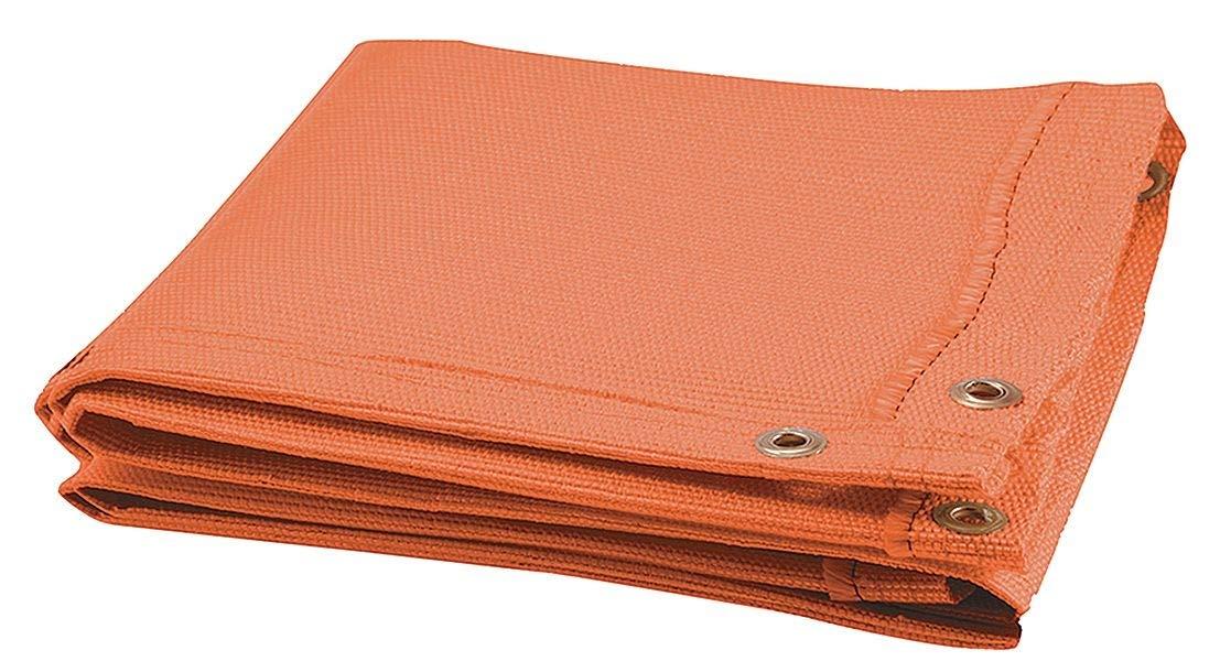 STEINER 369-10X10 Welding Blanket,10 ft W,10 ft.,Orange