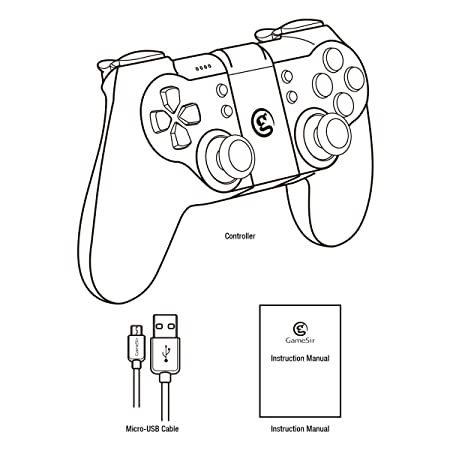 Gamesir T1 Bluetooth Wireless Controller Android Pubg Gamepad Wired