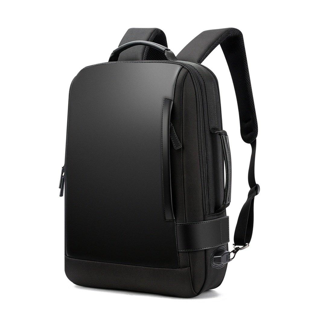 コンピュータのバックパック屋外旅行レジャーショルダーバッグ盗難防止多機能男性袋   B07GQGX9NR