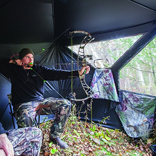 Barronett Blinds PT550BW Pentagon Pop Up Portable Hunting Blind, Bloodtrail Backwoods Camo by Barronett Blinds (Image #8)