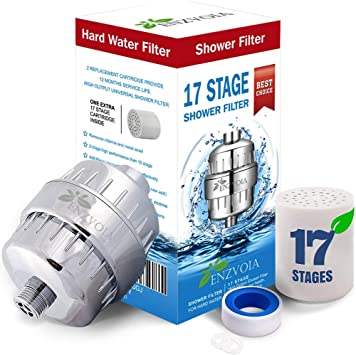 10 Stage Filter Clean Shower Head Chlorine Flouride Remover Hard Water Softener