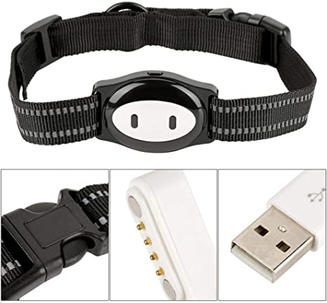 Amazon.com: MMKSTO - Collar de rastreador GPS para mascotas ...