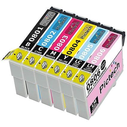 Epson Compatible T0807/T0801, T0802, T0803, T0804, T0805 ...