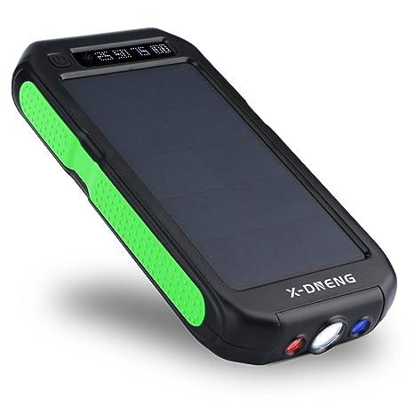 Cargador solar para teléfonos móviles X-DNENG (1200 mAh ...