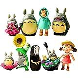 My Neighbour Totoro Figure Hayao MiyazakiPONYO Spirited Away Anime Models by Win8Fong