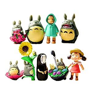 My Neighbor Totoro Figure Hayao MiyazakiPONYO Spirited Away Anime Models by Win8Fong