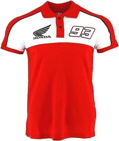 Marc Marquez 93 Dual Honda Moto GP Team Polo Camisa Rojo Oficial ...
