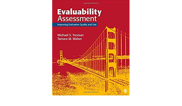 Amazon evaluability assessment improving evaluation quality amazon evaluability assessment improving evaluation quality and use 9781452282442 michael s trevisan tamara m walser books fandeluxe Gallery