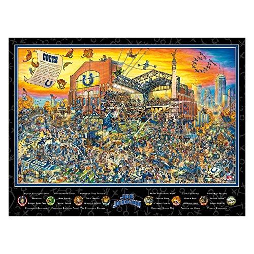 Indianapolis Colts Lucas Oil Stadium (Joe Journeyman NFL Indianapolis Colts Jigsaw Puzzle, 500-Piece)