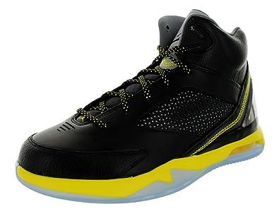 Jordan Flight Remix Men US 9 Black Basketball Shoe
