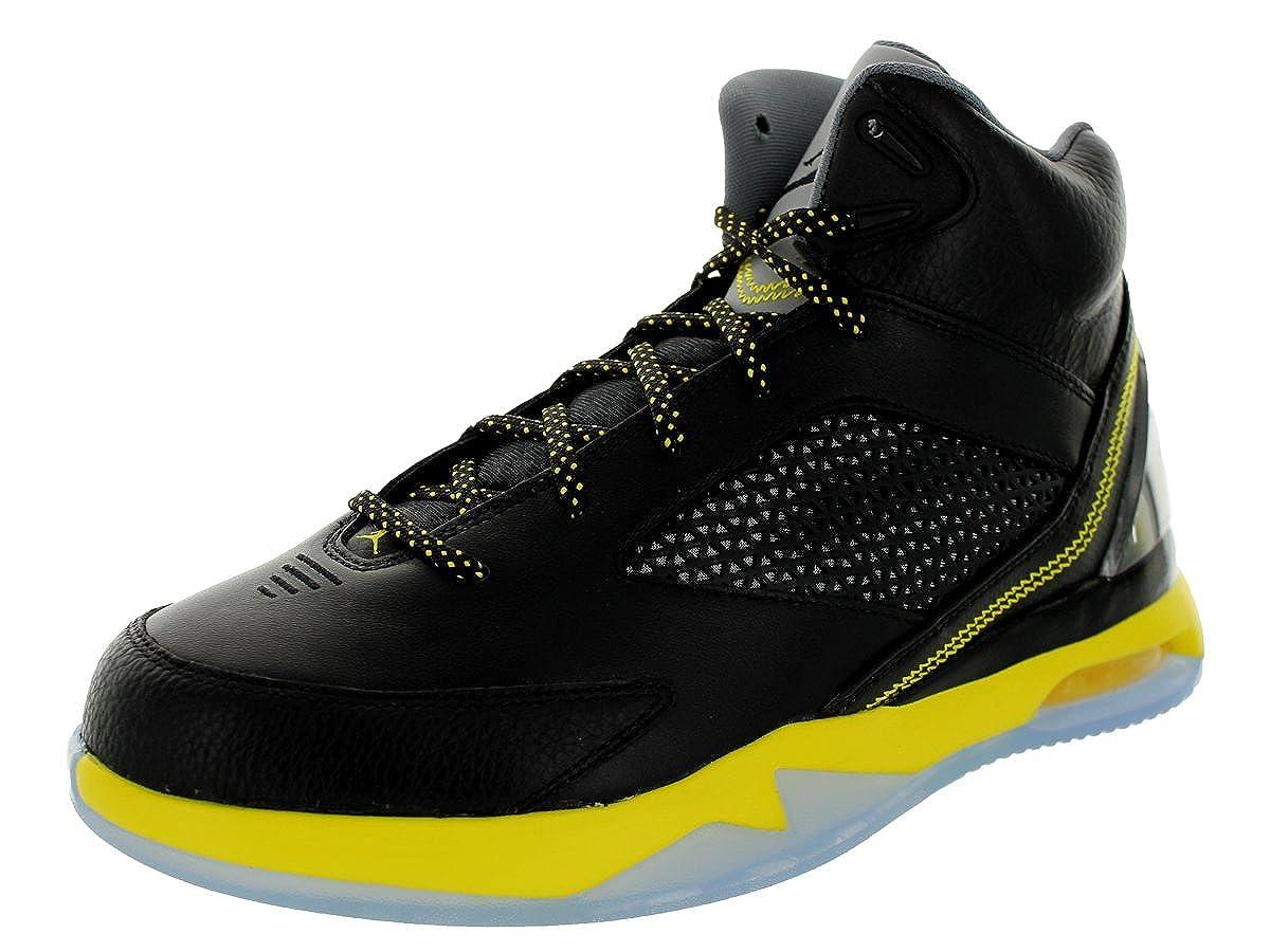 1cc2159fcfb Amazon.com | Jordan Nike Air Flight Remix Mens Basketball Shoes 679680-070  Black Vibrant Yellow-Cool Grey 10.5 M US | Basketball
