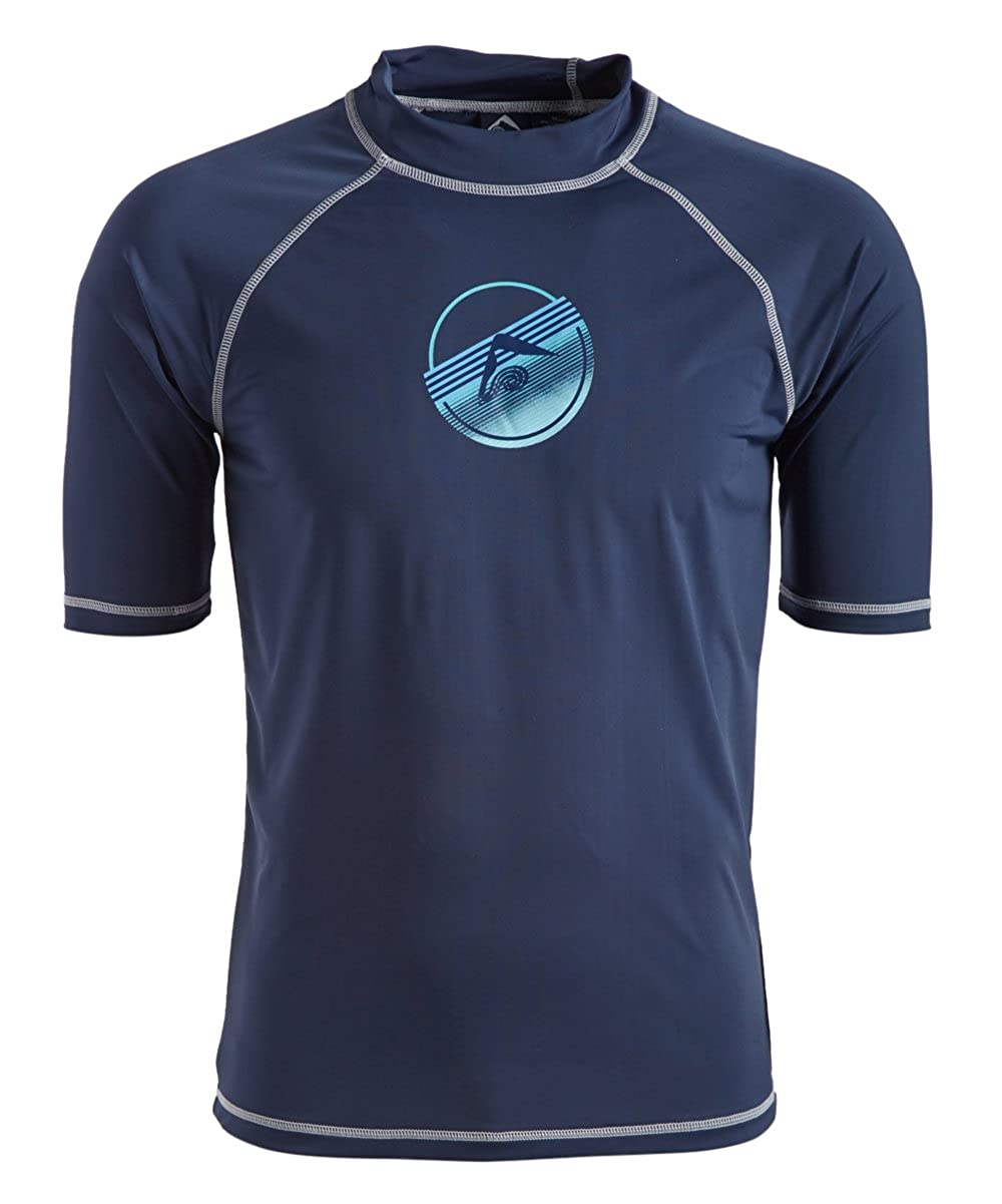 Kanu Surf Mens Standard Echelon UPF 50+ Sun Protective Rashguard Swim Shirt 5477