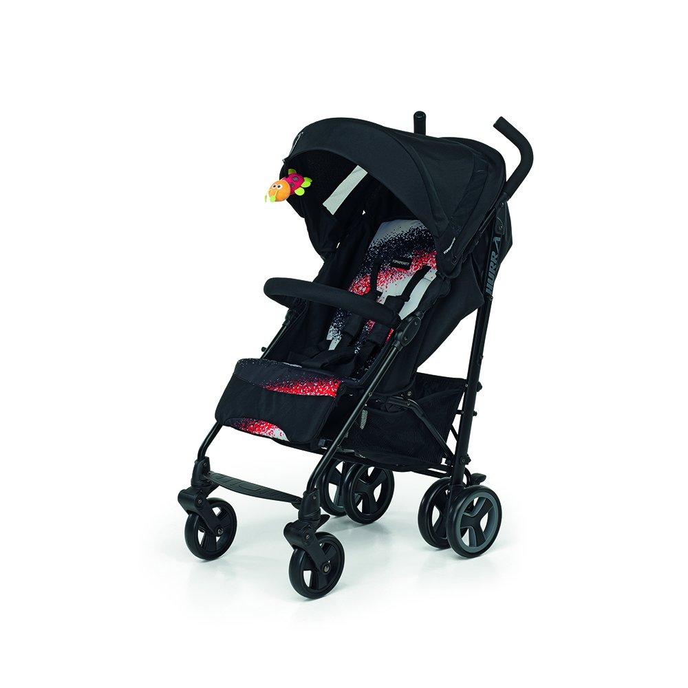 Foppapedretti Hurra Fantasy - Silla de paseo ligera y compacta, color negro 9700345806